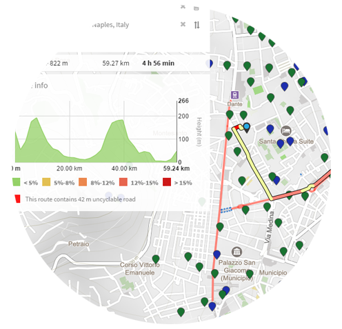 Advanced search, geocoding and reverse geocoding on MAPCAT