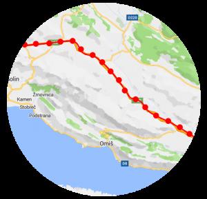 Map matching, geocoding, reverse geocoding on MAPCAT